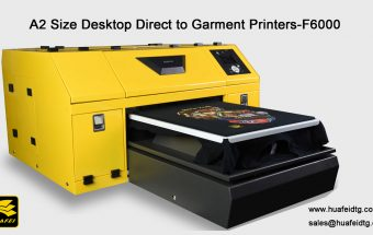 A2 Size desktop dtg printer