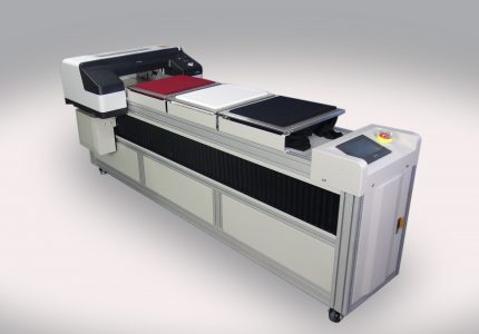 Direct to Garment Printer with 3 Platens